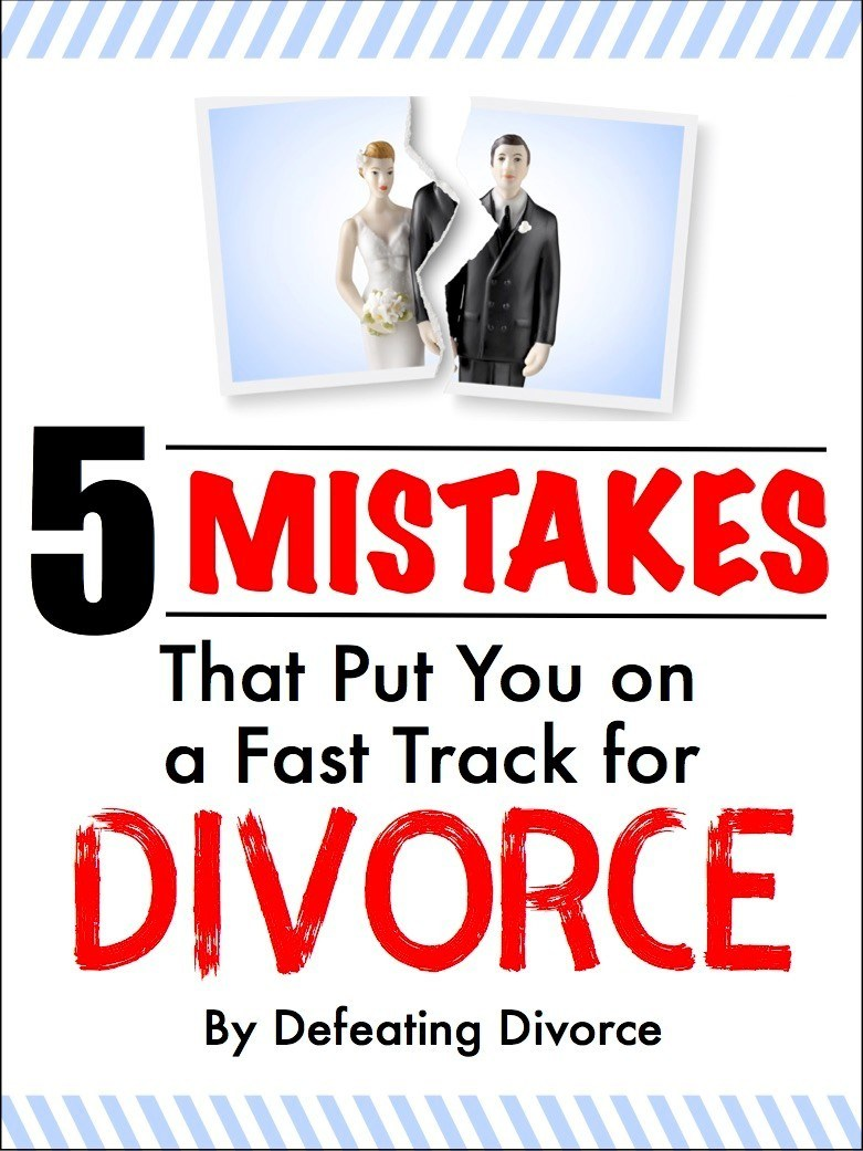 5 marriage mistakes