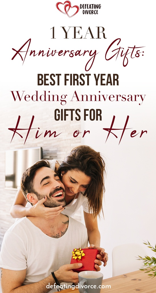 1 year anniversary gifts best first year anniversary gifts for him or her