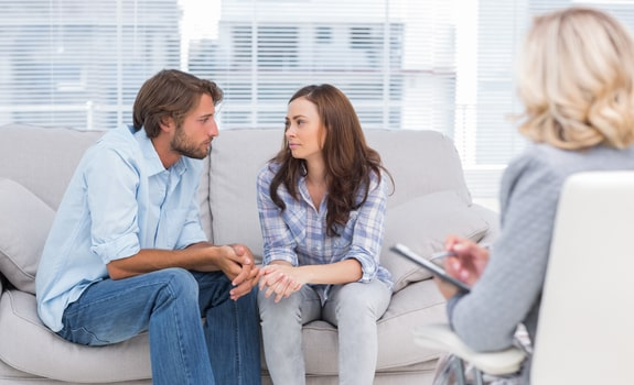Couple at Marriage Counseling