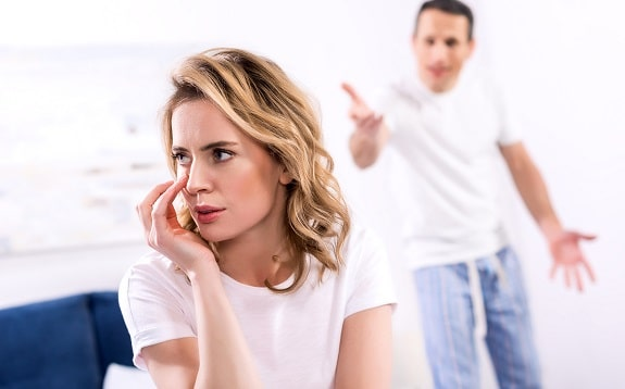 Wife Being Criticized by Husband