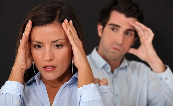 Wife and Husband Dealing With Criticism