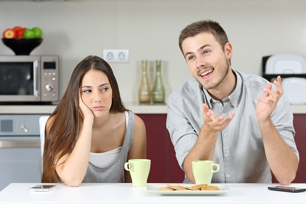Wife Bored of Husband's Conversation