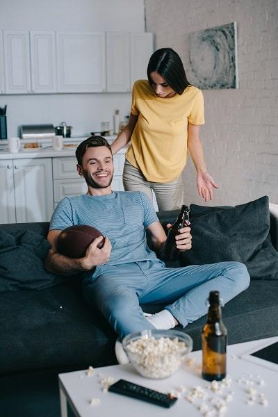 Wife Criticizing Husband