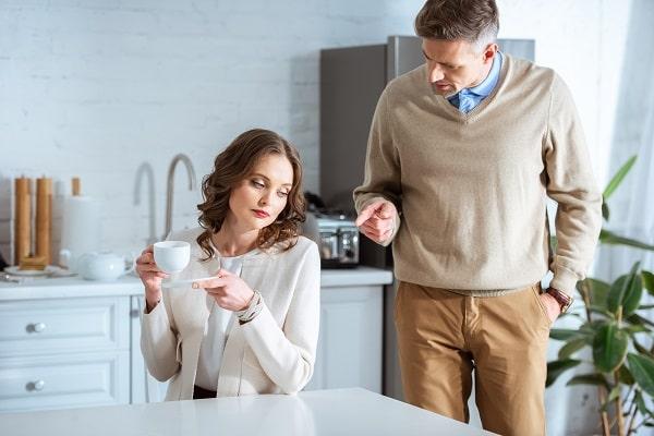 Husband Criticizing Wife