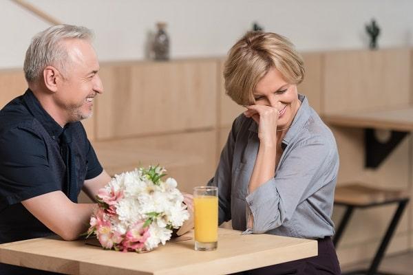 Husband Making Wife Laugh