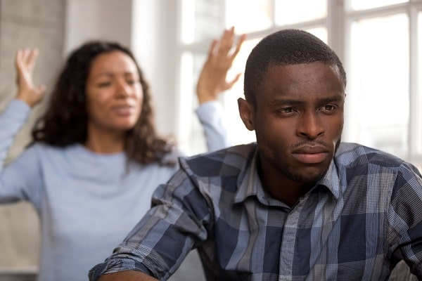 Man Not Interested in Communicating With His Partner